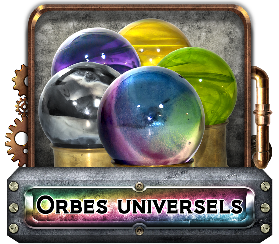 catégorie orbes universels